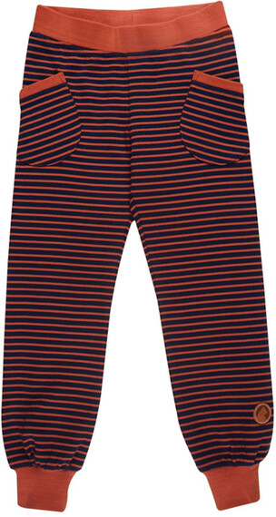 Finkid Huvi - Pantalon Enfant - orange/bleu